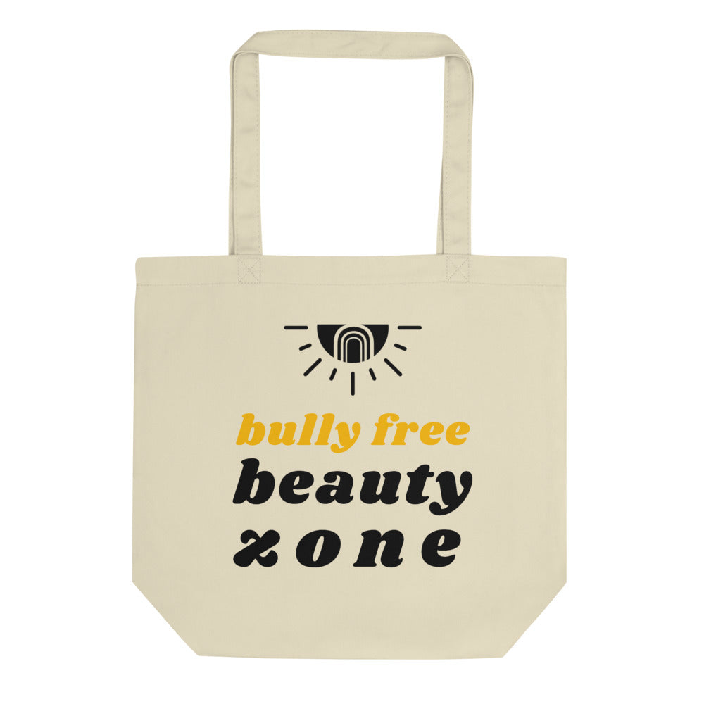 Bully Free Beauty Zone Double-Sided Eco Tote - Wildly Free Beauty