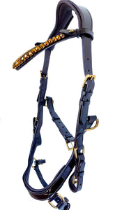 Micklem Style Multi Bridle - Chocolate Leather