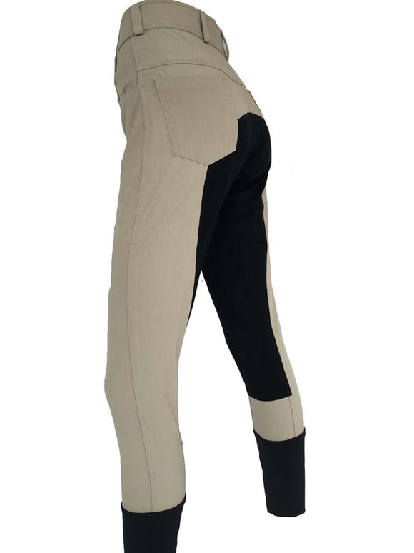 Ladies Full Seat Breeches - Beige