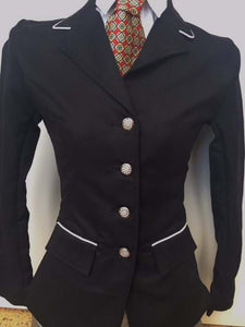 Girls Black Show Jacket