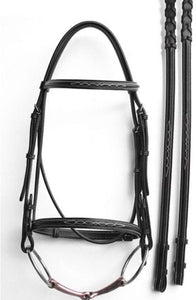 Fancy Stitch Cavesson Bridle