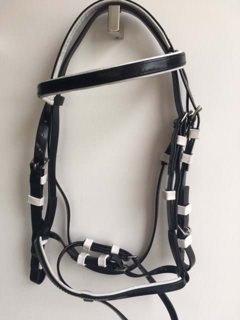 PVC Hanoverian Bridle - Various Colours