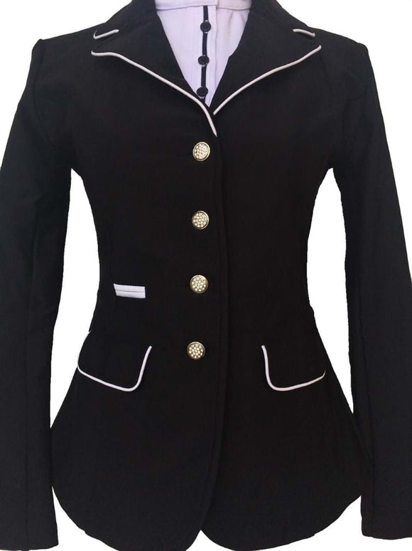 Kids Soft-shell Show Jacket - Navy or Black