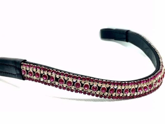 Crystal Browband - Various Colours