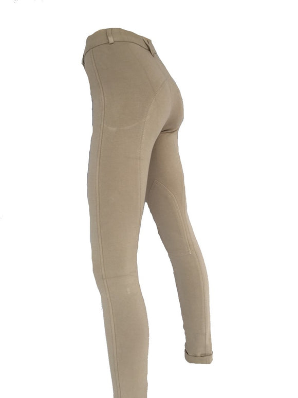 Girls Beige Jodhpurs