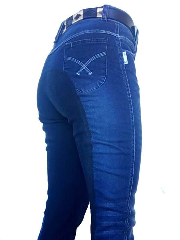 Ladies Denim Full Seat Jeans