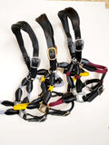 Hybrid Rope and Leather Halter - Various Colours