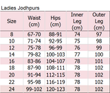 Ladies Two-Tone Jodhpurs - Various Colours