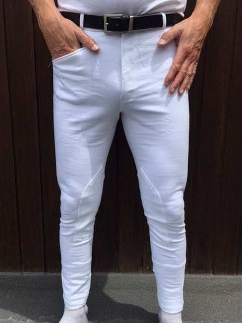 Mens White Jodhpurs