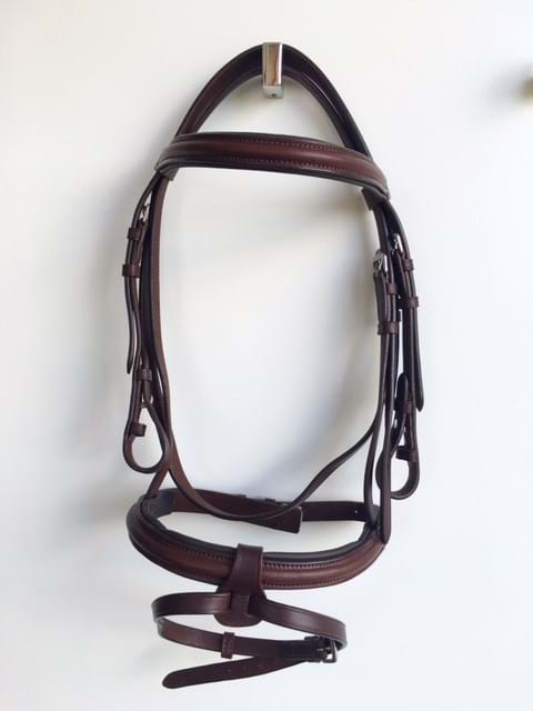 Brown Hanoverian Bridle