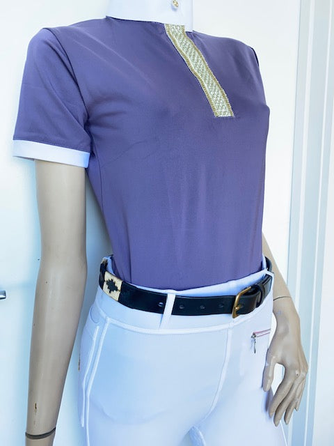 Ladies Technical Show Shirt - White or Purple