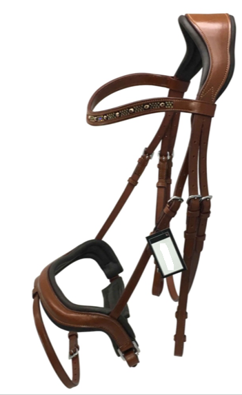 Crank Flash Bridle - Tan