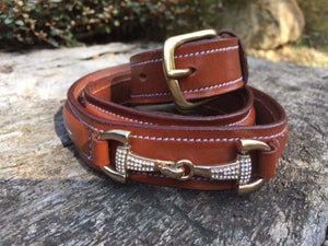 Crystal Bit Belt - Various Colours