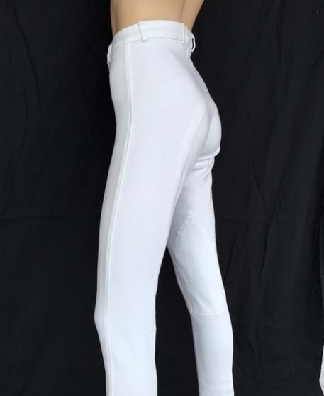 Ladies White Competition Jodhpurs