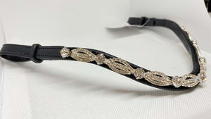 Lace Crystal Browband - Various Colours