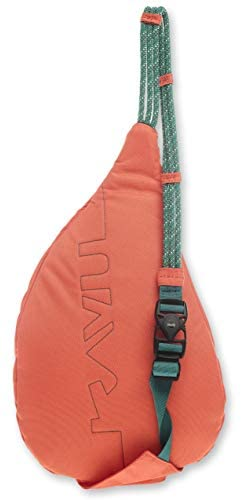 KAVU Mini Rope Sling Bag Polyester Crossbody Backpack - Orange Pop - The Brush Brand
