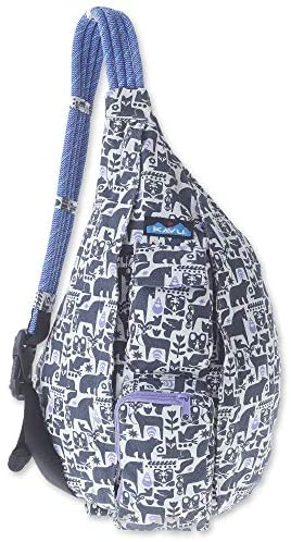 KAVU Women's Rope Bag, Charcoal Fable - The Brush Brand