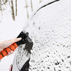 Car Snow Brush Removal Extendable with Ice Scraper and Foam Grip Detachable Snow Mover for Car Auto SUV Truck Windshield Windows: Automotive
