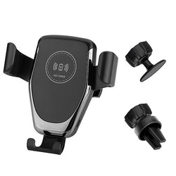Automatic Gravity Wireless Car Charger Mount For Smartphone - The Brush Brand