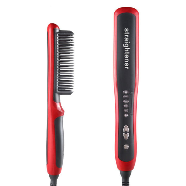Durable Electric Straight Hair Brush - The Brush Brand