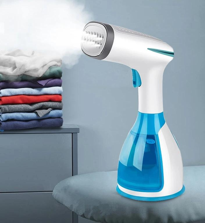 TheBrushBrand Handheld Fabric Steamer 15 Seconds Fast-Heat 1500W Powerful Garment Steamer for Home Travelling Portable Steam Iron - The Brush Brand