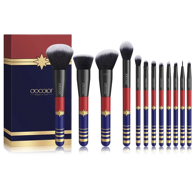 12PCS Makeup Brushes Set - The Brush Brand