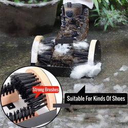Shoe Cleaner & Scraper Boot Brush - The Brush Brand