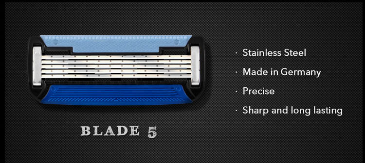 Manual Man Shave Razor with Trimmer - The Brush Brand