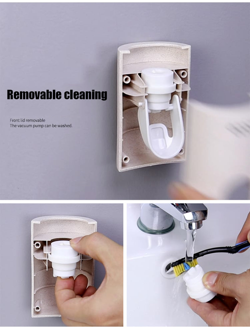 Automatic Toothpaste Dispenser - The Brush Brand