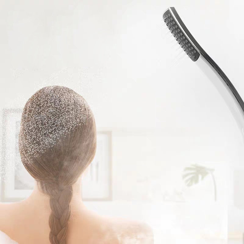 Hand Shower,Hand Held Shower Head Bathroom  Accessories  ABS Chrome Finished 150CM Stainless Steel Hose Handheld Showerheads - The Brush Brand