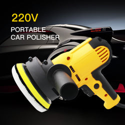 Electric Car Polisher Machine 220V 500-3500rpm 600W Auto Polishing Machine 6 Speed Sander Polish Waxing Tools Car Accessories - The Brush Brand