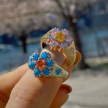 Load image into Gallery viewer, RICCO FLOWER STONE SETTING RING