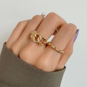 ERES 2 TRIPLE PAVED CHAIN RING