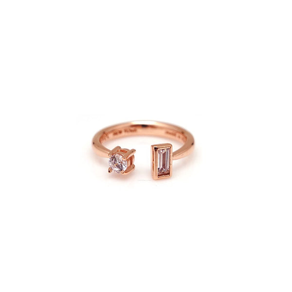 ELODY RECTANGLE KNUCKLE RING