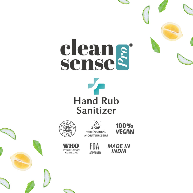 Cleansense Pro Hand Rub Sanitizer (100 ml Pack of 6)