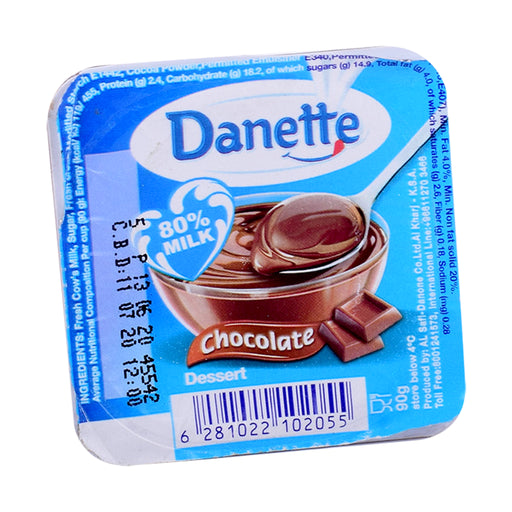 Alsafwa Fresh Danette Chocolate 90Gm