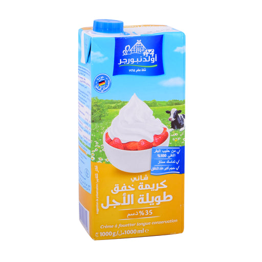 Oldenburger Shani Whipping Cream Tetra 1Ltr
