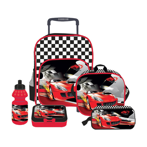 Atlas Racing Car 5in1 Trolley Set Boy16""