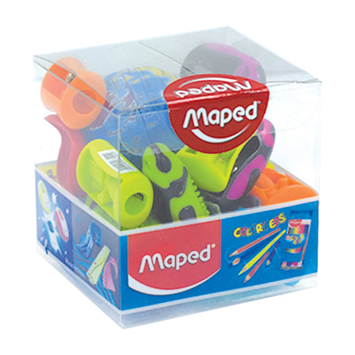 Maped Sharpeners Assorted 12Pcs