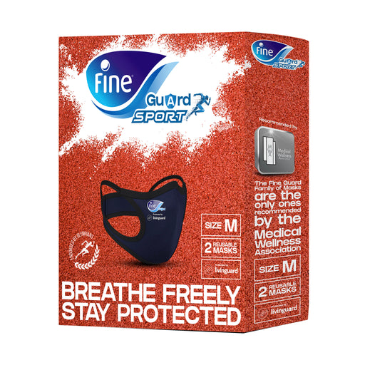 Fine Guard  Sport Reusable Masks Medium 2's