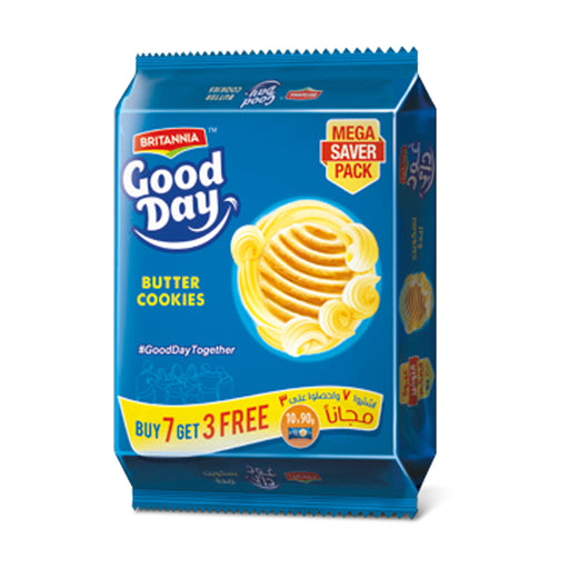 Britannia Good Day Biscuit Asstd 90g x10 Pcs