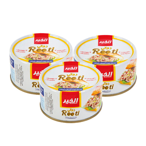 White Meat Fancy Tuna Rooti 185gm x 3 Pcs