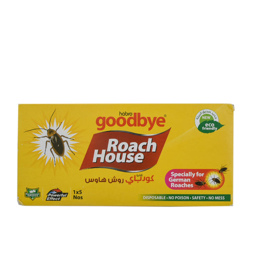 Goodbye Roach House Cockroach Trap