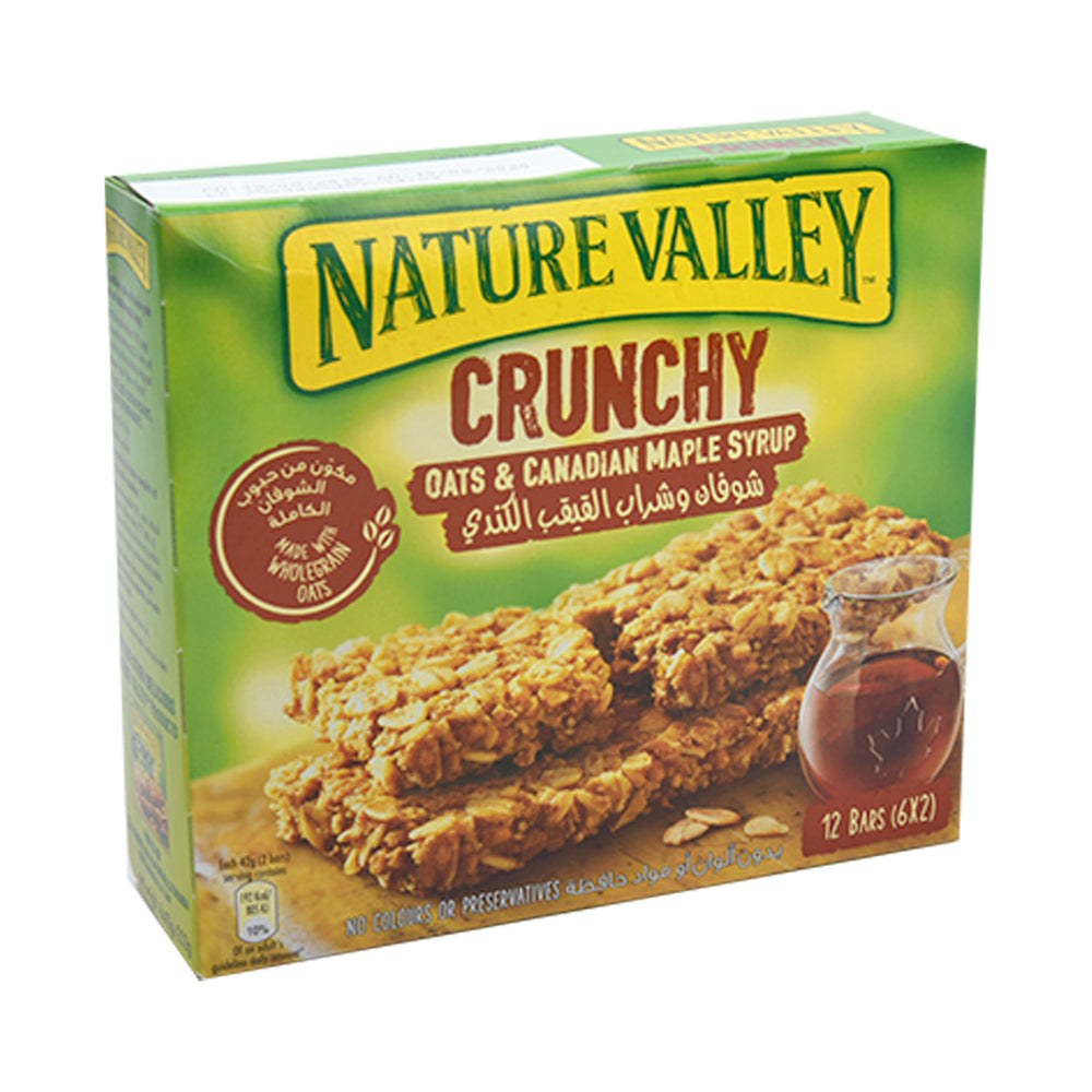 Nature Valley Crunchy Granola Bars With Canadian Maple Syrup 42Grm