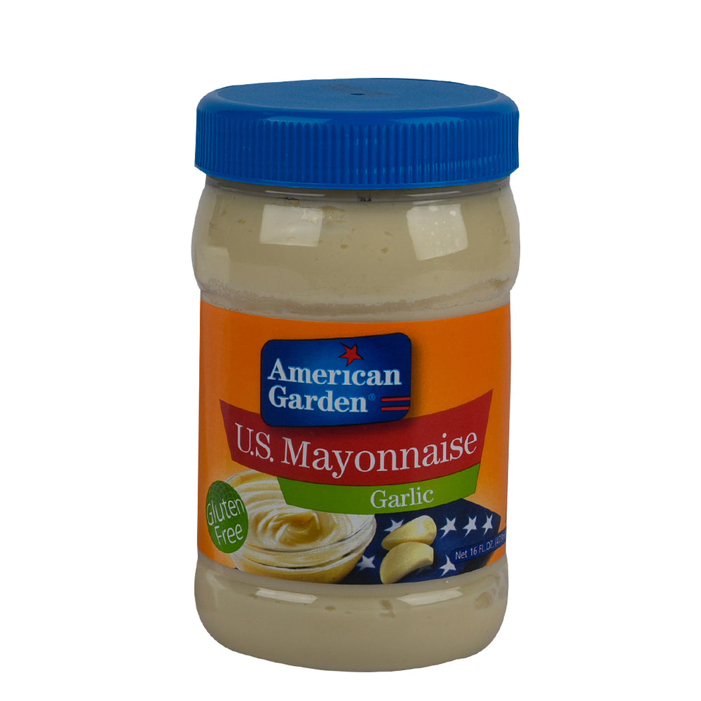 American Garden Mayonnaise Garlic 473ml