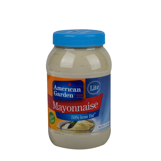 American Garden Mayonnaise Lite 59% less fat 887ml