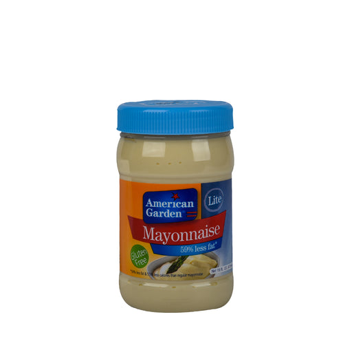American Garden Mayonnaise Lite 59% less fat 473ml