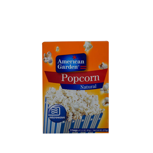 A/GARDEN Pop Corn Natural Microwave 273Gm