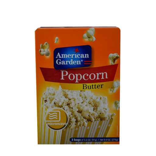 A/GARDEN Pop Corn Butter Microwave 273Gm