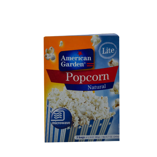 A/GARDEN Pop Corn Light Microwave 240Gm